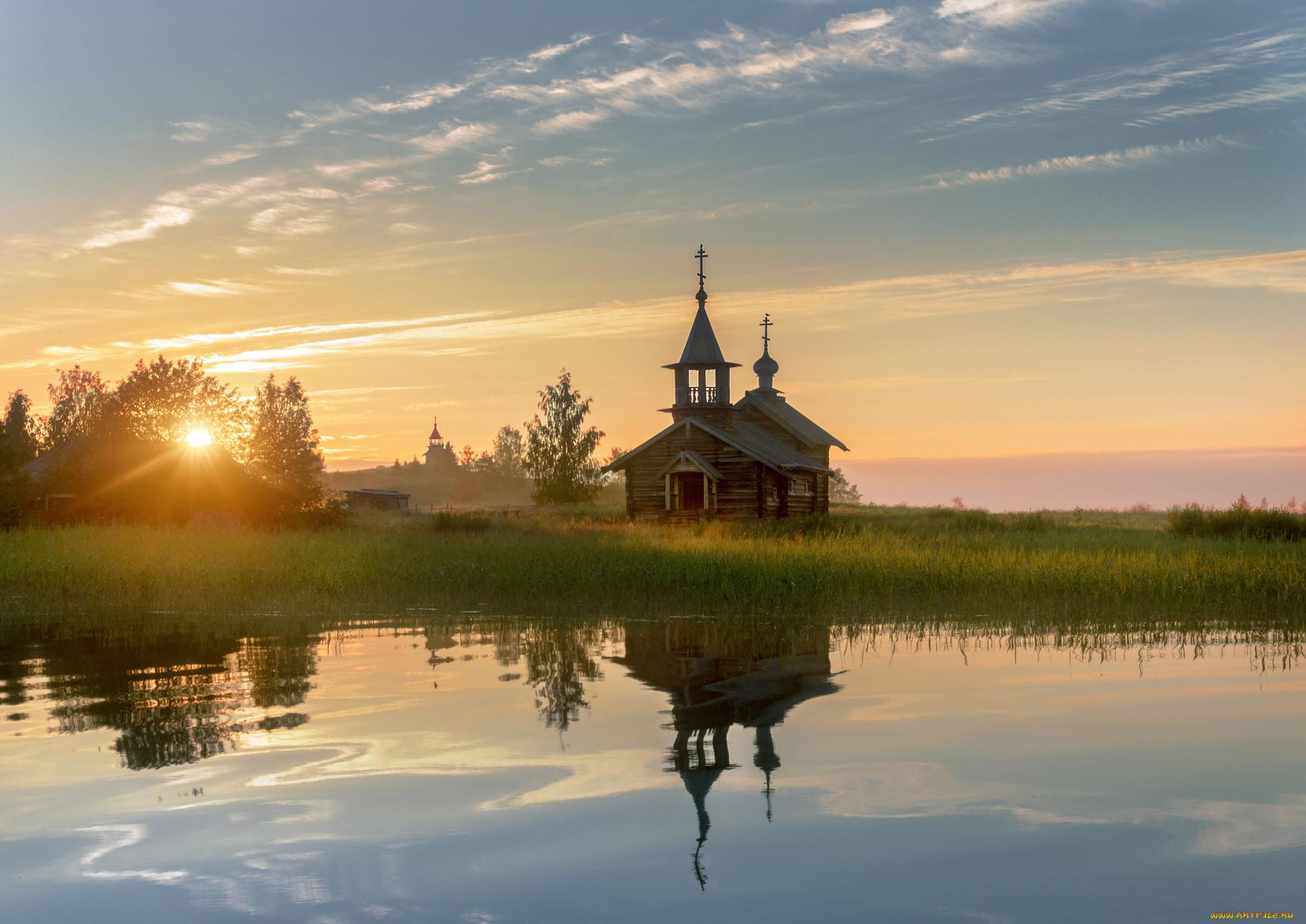 Картинки церквей и природы
